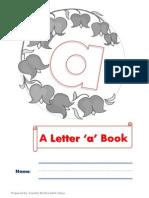 Letter a Mini Book