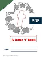 Letter t Mini Book