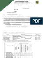 Informe de Notas Finales Vacional UNA