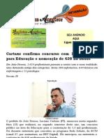 Cartaxo confirma concurso com 1,3 mil vagas para Educação e nomeação de 638 na Saúde