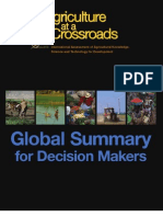 Agriculture at a Crossroads_Global Summary for Decision Makers (English)