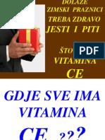 DIJETA Bazirana Na CE Vitaminu