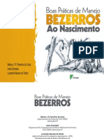 Manual Bezerros Zootecnia
