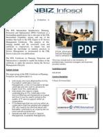 ITIL Expert Track(OSA,SOA,PPO,RCV) + MALC Offerd by Nbizinfosol.com