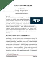 Juan Pablo Abraham - LA BÚSQUEDA DEL SENTIDO LUCRECIANO