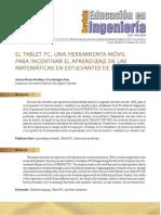 El Tablet PC, una herramienta móvil para incentivar el aprendizaje de las matemáticas en estudiantes de ingeniería.pdf