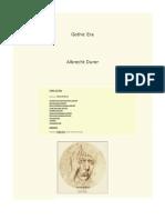 Gothic Era - Albercht Durer