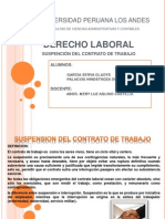 Diaposotivas de La Suspension Del Contrato de Trabajo1