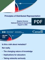Distributed Representation