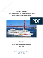 2012 North American Cruise Industry Economic Study (Exec Summary)