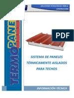 Manual TERMOPANEL - Grupo Isotex