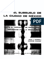 El Subsuelo de la Ciudad de México