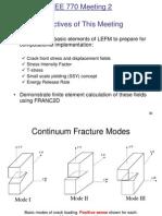 Lecture 2 Review LEFM 1