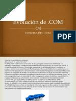 Evolución del .COM