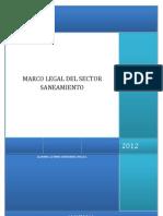 Marco Legal Del Sector Saneamiento