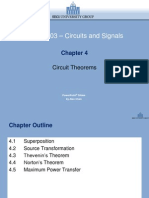 Chapter 4 - Circuit Theorems