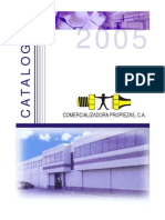 Catálogo de Conexiones (PROPIEZAS)
