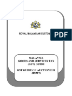 GST Guide on Auctioneer