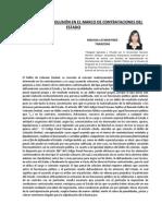 ARTICULO DELITO DE COLUSIÓN Y SU TRATAMIENTO JURISPRUDENCIAL