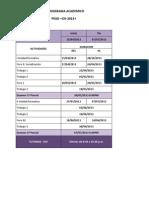 Cronograma Academico Ciii 2013 i