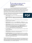 Health Care Reform Benefits MI District 09