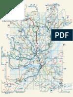 Plan général du réseau 2012-2013