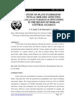 47.Studyonplantpathogenicfungaldiseasesaffectingsolanumtuberosumpotatoesintheregionofdehgambyv.n.patelt.h.patelands.c.parikh1