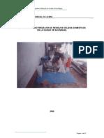 Estudio de Caracterizacion de RSD San Miguel