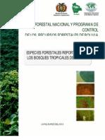 Especies forestales reportadas de Bolivia.pdf