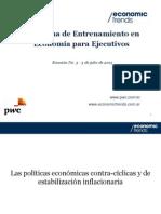 Economía para Ejecutivos M1 - Reunión 3