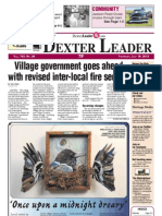 Dexter Leader Front Page July 18, 2013