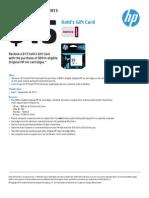 HP q3 $15 Kohls Gift Card Rebate - Solidia, Inc.