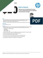 $20 HP Rebate - Solidia, Inc.