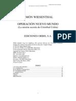 Wiesenthal Simon - Operacion Nuevo Mundo