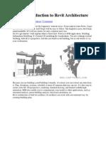 Introduction to Revit Architecture