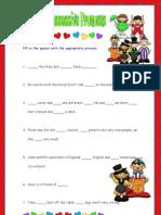 Personal and Possessive Pronouns
