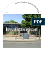 Pei Escuela E-139 Gral. Domingo Urrutia -San Carlos
