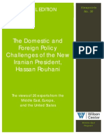 The Domestic and Foreign Policy Challenges of the New Iranian President, Hassan Rouhani (Viewpoints No. 30)