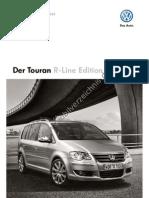 Touran R-Line 5 2009