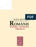 Dar Botta - Românii, poporul tradiţiei imperiale