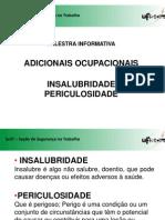 Adicionais Ocupacionais - Site Progepe - 2011