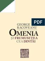 George Racoveanu - Omenia şi frumuseţea cea dintâi