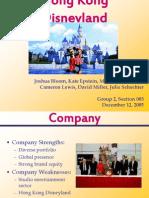 DisneyHongKong Presentation