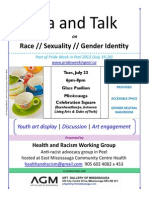 Tea & Talk Race/Sexuality/Gender Talk