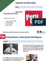 Investigación de Mercado. Caso Perú Cola