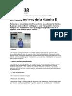 Misterios de La Vitamina E