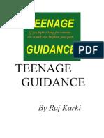 TEENAGE GUIDANCE (PART I)