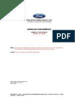 0125 - MD - Projeto e Instalação de sistema automáti co de Sprinklers no interior dos paines dos Rubinetes nas  cabines de pintura
