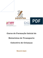 Manual_Formação Inicial de Motoristas de Transporte Colectivo de Crianças