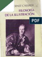 Cassirer,Ernst FilosofiadeLaIlustracion